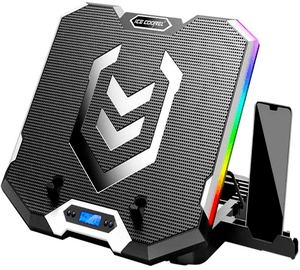 ICE COOREL RGB Laptop Cooling Pad 15.6-17.3 Inch